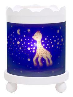 Lanterne magique Sophie la girafe