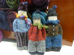 What an adorable way to use leftover yarn! Ravelry: ringarosie's Little Bertie
