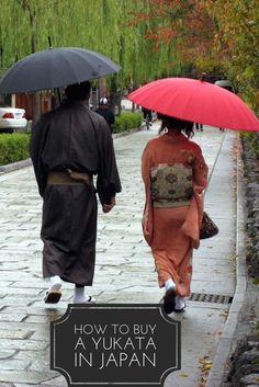 Made in Japan kimonos, yukatas- what's the difference and where to buy your Japanese yukata or kimono while visiting Japan? Read our tourist shopping guide! Go To Japan, Visit Japan, Japan Art, Japan Travel Tips, Asia Travel, Travel Log, Yamaguchi, Japan Honeymoon, Japon Tokyo