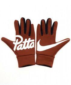 6de67bc510c1f eBay  Sponsored PATTA x Nike Gloves Tech Fleece Mars Stone Size L XL Orange