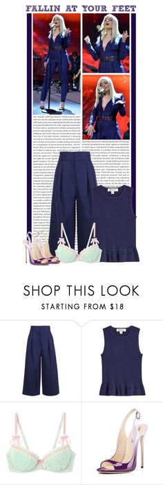 """""""#1641 (Bebe Rexha)"""" by lauren1993 ❤ liked on Polyvore featuring Oris, Bebe, TIBI and Diane Von Furstenberg"""