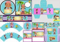 Izzi de Jake y los Piratas: Mini Kit para Imprimir Gratis. | Ideas y material gratis para fiestas y celebraciones Oh My Fiesta!
