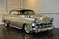 Gorgeous chrome. 53 Chevy