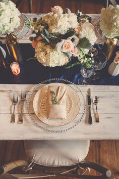 Navy is becoming the new black in weddings and I can't help but love the mixture of navy used to decorate this romantic engagement...  Featured on former Bachlorette contestant, Des Hartstock's blog! How awesome!  Visit us at www.maineventpro.com