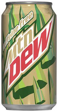 Mountain Dew Caffeine Free - It's so good yet so hard to find!