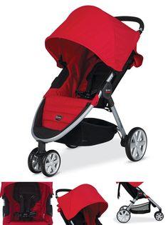 britax-b-agile-stroller $230 + car seat
