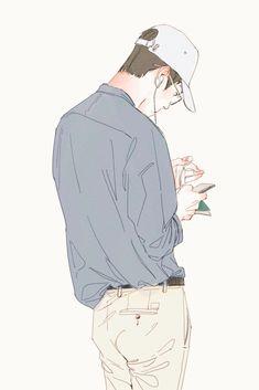 Oh Sehun fanart Sehun, Anime Kunst, Anime Art, Exo Anime, Character Illustration, Illustration Art, Exo Fan Art, Kim Jongdae, Pics Art