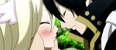 Animated gif discovered by Naho. Find images and videos about gif, couple and anime on We Heart It - the app to get lost in what you love. Fairy Tail Funny, Fairy Tail Art, Fairy Tail Guild, Fairy Tail Ships, Fairy Tail Anime, Fairy Tales, Zeref Y Mavis, Zeref Dragneel, Fairytail