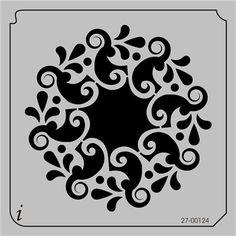 27-00124, Decorative Stencils, 27-00124 - iStencils.com