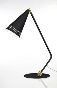 Globen Bordslampa Pipe Svart