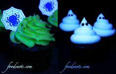 BarraDoce.com.br - Confeitaria, Cupcakes, Bolos Decorados, Docinhos e Forminhas: Como Fazer Cupcakes Que Brilham No Escuro