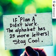 """Before plan """"A""""... #quote #motivation #business #strategy #socialmedia  #quoteoftheday #quotes #wordsforthought #instadaily #staycool #life #plans #love #me #follow #followforfollow #inspiration #mood #target #solution #noproblem #piclabquotes #motivationalquotes  TKS  @lilmissjen2  Regards from Italy by #quisquidItalia  Http://quisquid.it ・・・"""
