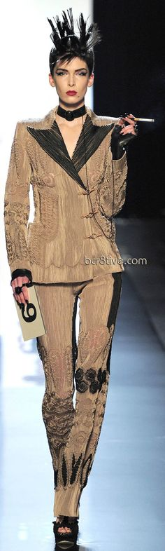 Jean Paul Gaultier Haute Couture Spring Summer 2011| The House of Beccaria