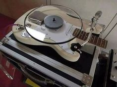 "100 Likes, 4 Comments - Tony Serrano (@tonyfuze) on Instagram: ""Would you ""play"" music on this? #turntable #vinyl #wax #12inch #records #guitar #music #funk #soul…"""