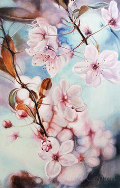 Silk Steps in Wind I/ Silkkiaskelia tuulessa I/Oil on Canvas/90,5 cm x 140 cm/2014