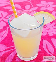 Lemonade Look-alike: This April 1, fool your family with a gelatin dessert disguised as a glass of lemonade.