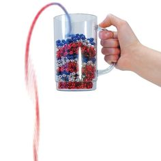 Polymer Bead Demonstration, Molecular Models: Educational Innovations, Inc. Science Fair, Teaching Science, Cover Page Template, Polymer Beads, Chemistry, Container, Polymers, Mugs, Chain