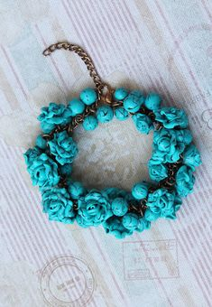 Hey, I found this really awesome Etsy listing at https://www.etsy.com/ru/listing/522612764/charm-bracelet-polymer-clay-turquoise