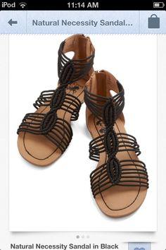Modcloth Black Sandals ;)