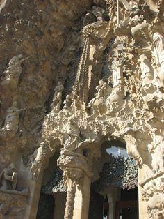 Small portion of exterior, Segrada Familia