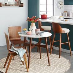 Reeve Mid-Century Bistro Table #west elm and pretty much everything else in their mid-century collection