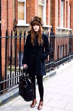 Cute street winter look