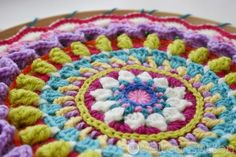 Felted Button - Colorful Crochet Patterns: Ends, Beautiful Ends