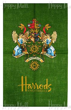 ~Harrods tea towel | The House of Beccaria#