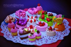 quilled picnic food
