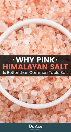 Holistic Remedies Not all salt is created equal! - Pink Himalayan salt is often said to be the most beneficial as well as the cleanest salt available on this planet today. Holistic Nutrition, Proper Nutrition, Health And Nutrition, Health And Wellness, Nutrition Guide, Health Foods, Health Tips, Holistic Remedies, Natural Home Remedies
