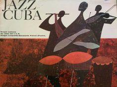 A rare sixties Cuban Jazz LP with beautiful cover! Lp Cover, Beautiful Cover, Cuban, Album Covers, Jazz, Letter, Painting, Spiritism, Jazz Music