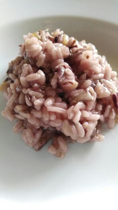 Radicchio and zenzero rice