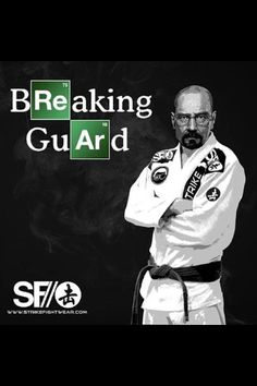 Breaking Guard... ;)  martial arts