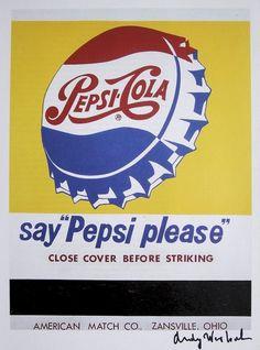 Andy Warhol - Pepsi
