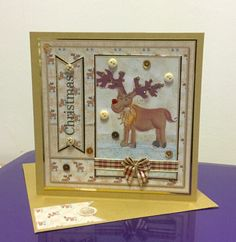 Romany Christmas, Crafters Companion Good template.