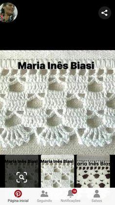 Most popular Crochet and Knitting Tejido Patterns and Crochet Boarders, Crochet Edging Patterns, Crochet Lace Edging, Cotton Crochet, Irish Crochet, Crochet Doilies, Easy Crochet, Free Crochet, Gilet Crochet