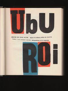 Les amis du club » Ubu Roi
