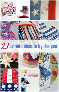 A Patriotic Roundup - Up to Date Interiors