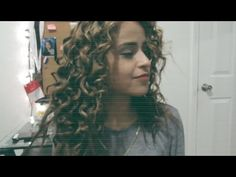 ♡ Big Sexy Curly Hair With A Pencil ♡ ! @xomarleyalfaro - YouTube