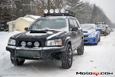 Snow ready forester (Sno*Drift 2013-2014)