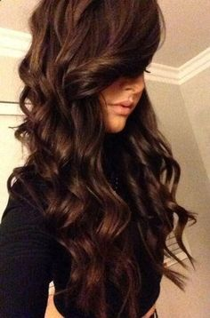 give yourself those bouncy, voluminous curls that will last for days.. .