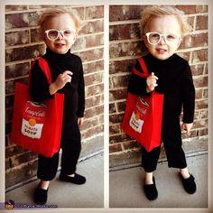 Andy Warhol Halloween Costume