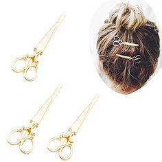 4pcs Vintage scissors Design Punk Women Girl Hair Clip Pin Claw Barrettes Accessories Pack of 4 >>> Learn more by visiting the image link.(This is an Amazon affiliate link and I receive a commission for the sales)