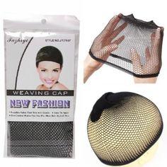 noir /beige filet cheveux wig cap filet perruque fishnet hairnet bonnet perruque