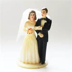 Lefton Vintage Bride and Groom Cake Toppers - Yahoo Image Search Results