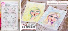 FACEcinating Girls – Basic Online Class » Creative Creations by Andrea Gomoll