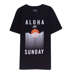 ALOHA SUNDAY - WATERLINE BLACK