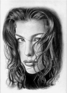 Cool Pencil Art by Linda Huber