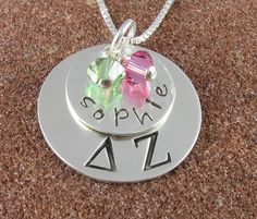 Already asked my husband and mother for this Delta Zeta necklace for my birthday!