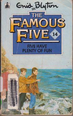 All Enid Blyton books.. I loved them as a child..